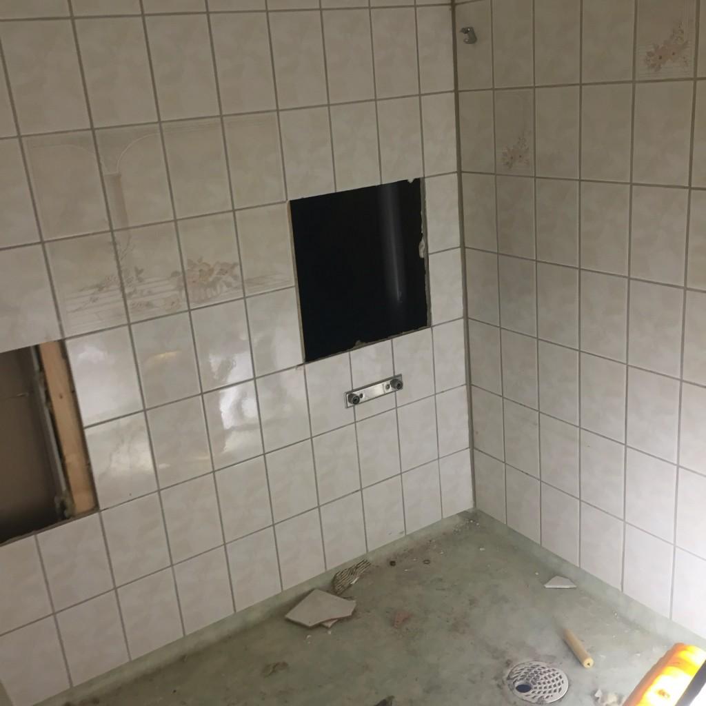 Före bilder badrum